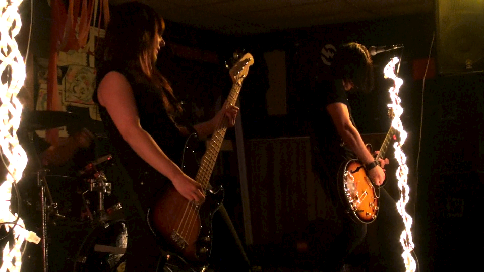 Angela and Johnny Yeagher of Ironhead