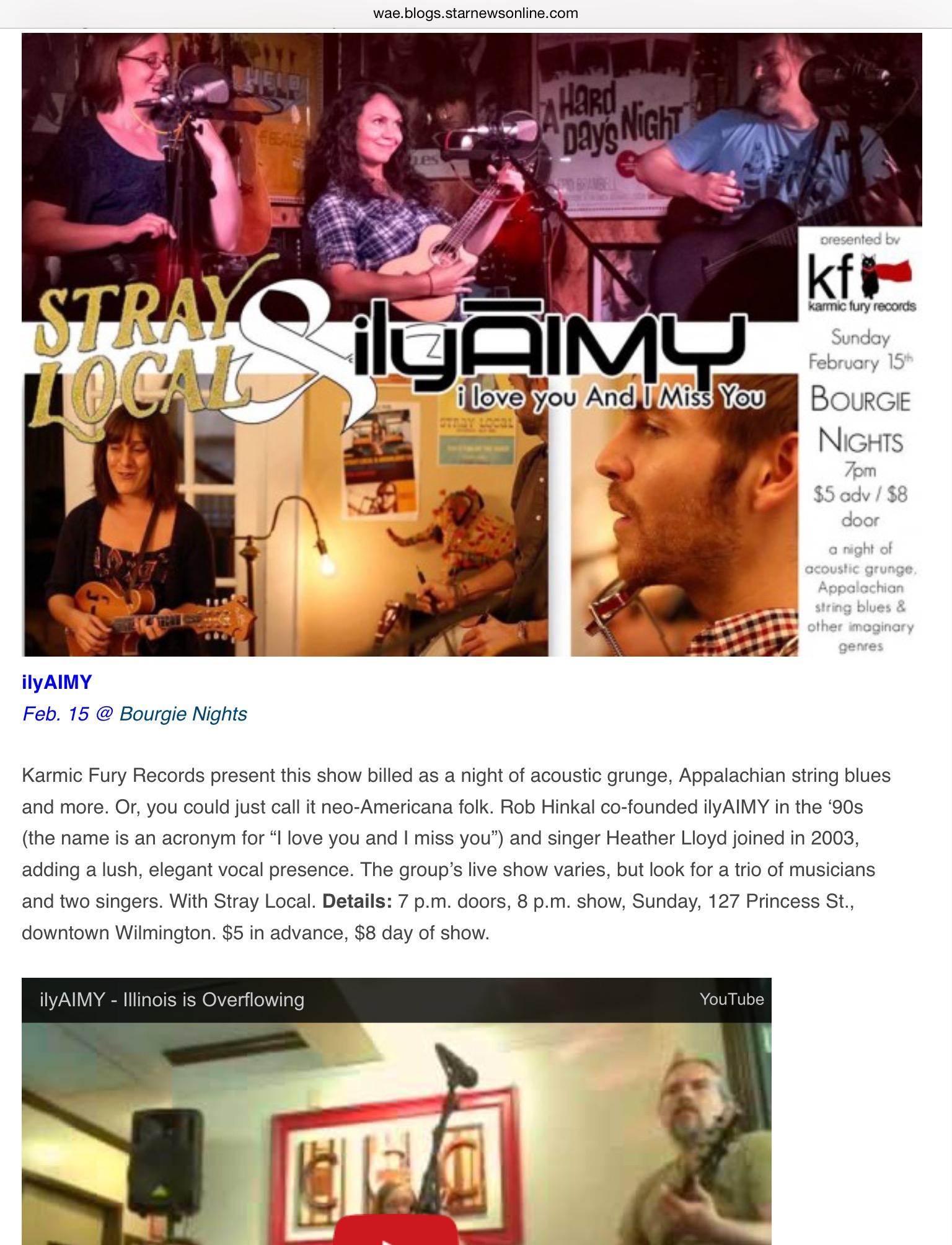ilyaimy and karmic fury records in star news