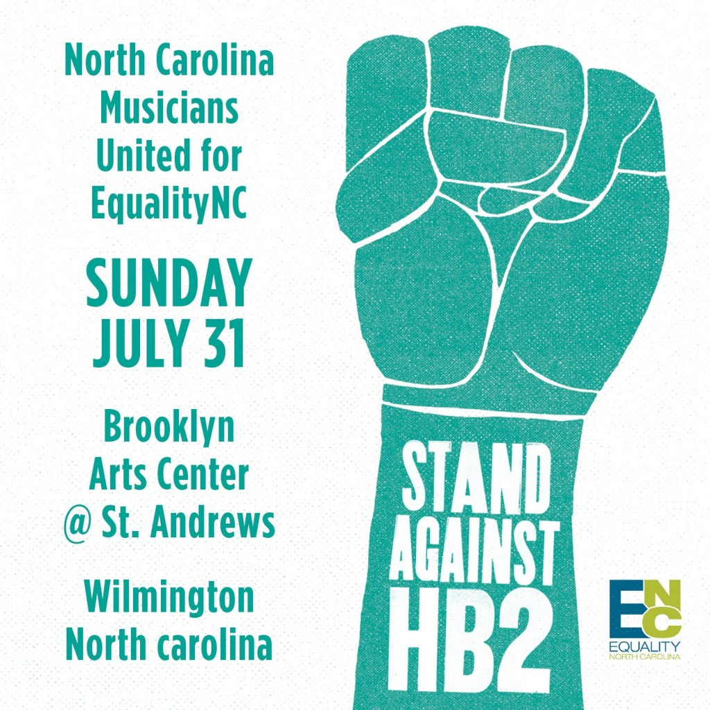 Stand Against HB2 Poster